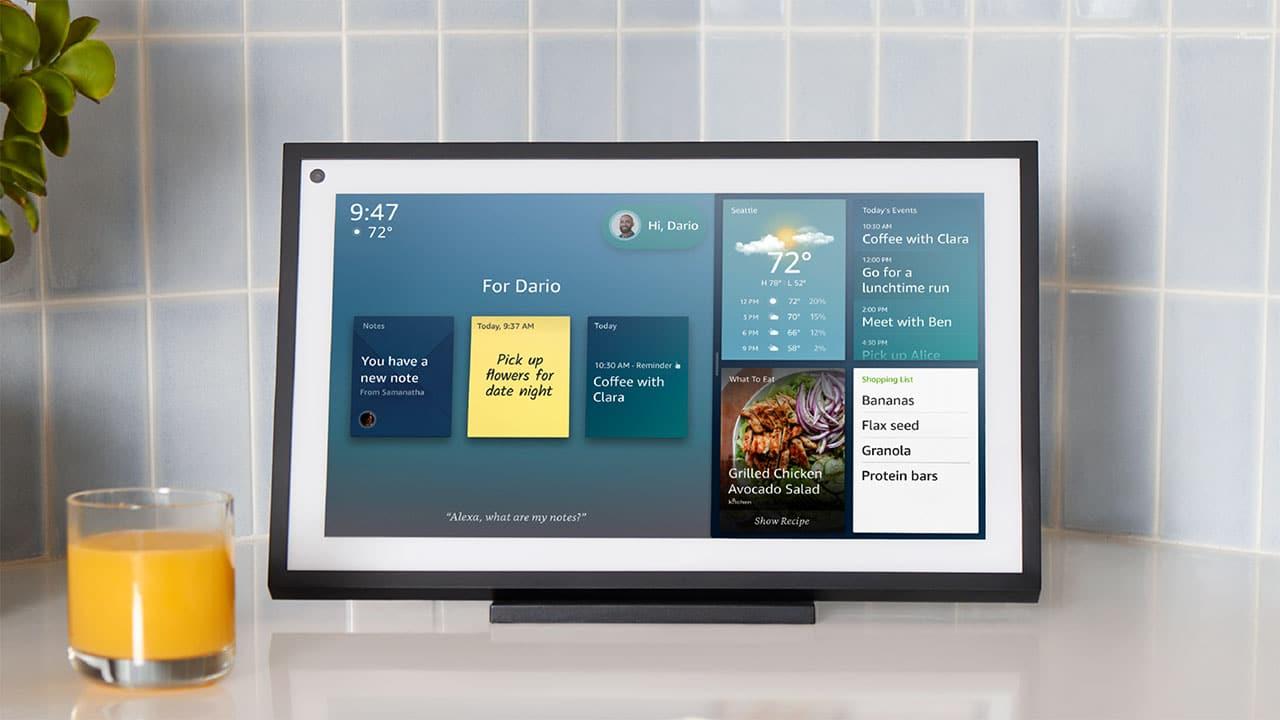 Il nuovo Echo Show di Amazon è un quadro tecnologico thumbnail