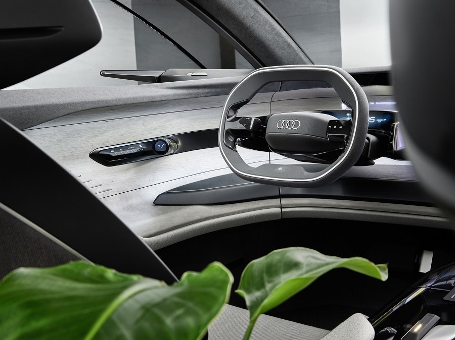 Audi grandsphere dettaglio interno