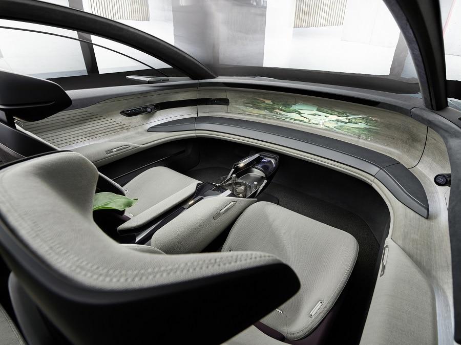 Audi grandsphere interni