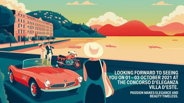 BMW Group: Concorso d'Eleganza Villa d'Este 2021, ecco dove si svolgerà thumbnail