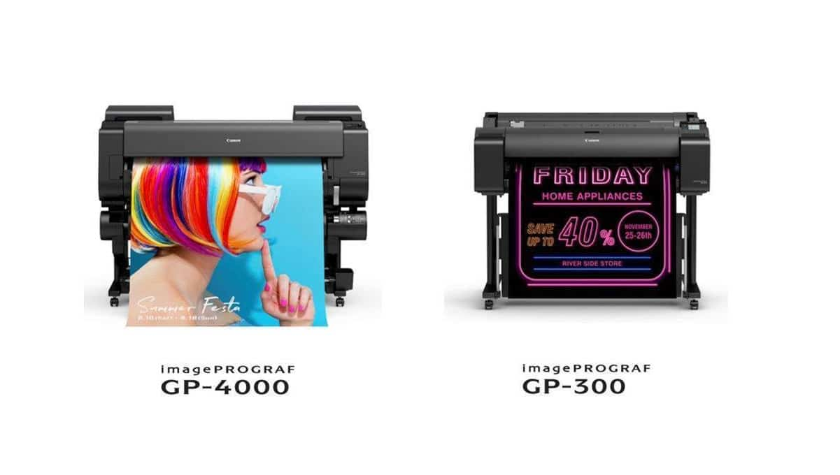 Canon svela la nuova serie di stampanti imagePROGRAF GP thumbnail