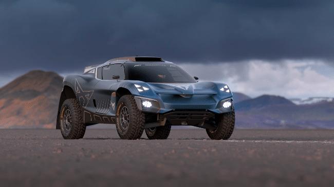 CUPRA Tavascan Extreme E Concept: il fuoristrada completamente elettrico thumbnail