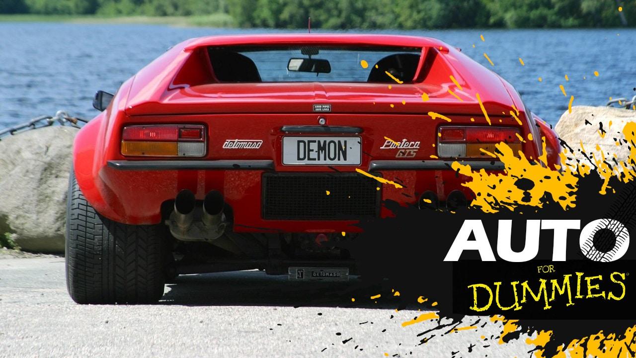 Case italiane scomparse: De Tomaso, il sogno dell'argentino Alejandro   Auto for Dummies thumbnail