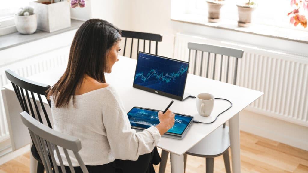 Dell monitor portatile 14''