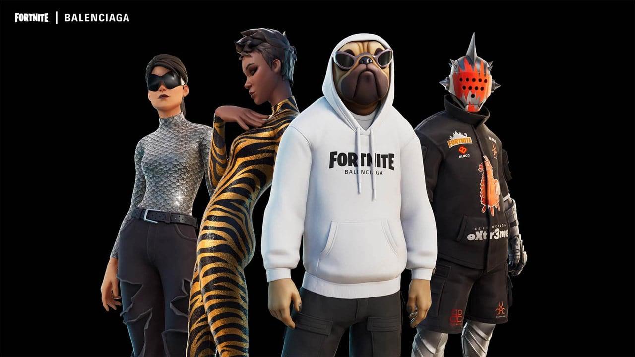 L'alta moda di Balenciaga arriva su Fortnite thumbnail