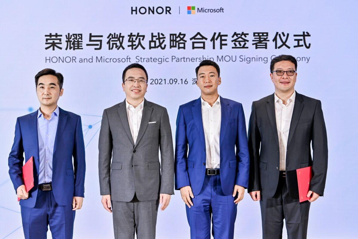HONOR-Microsoft: accordo per una partnership strategica thumbnail