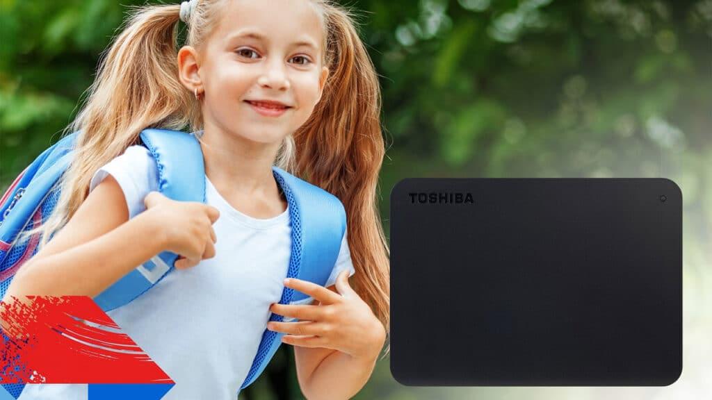 Hard disk esterno Toshiba Canvio Basics
