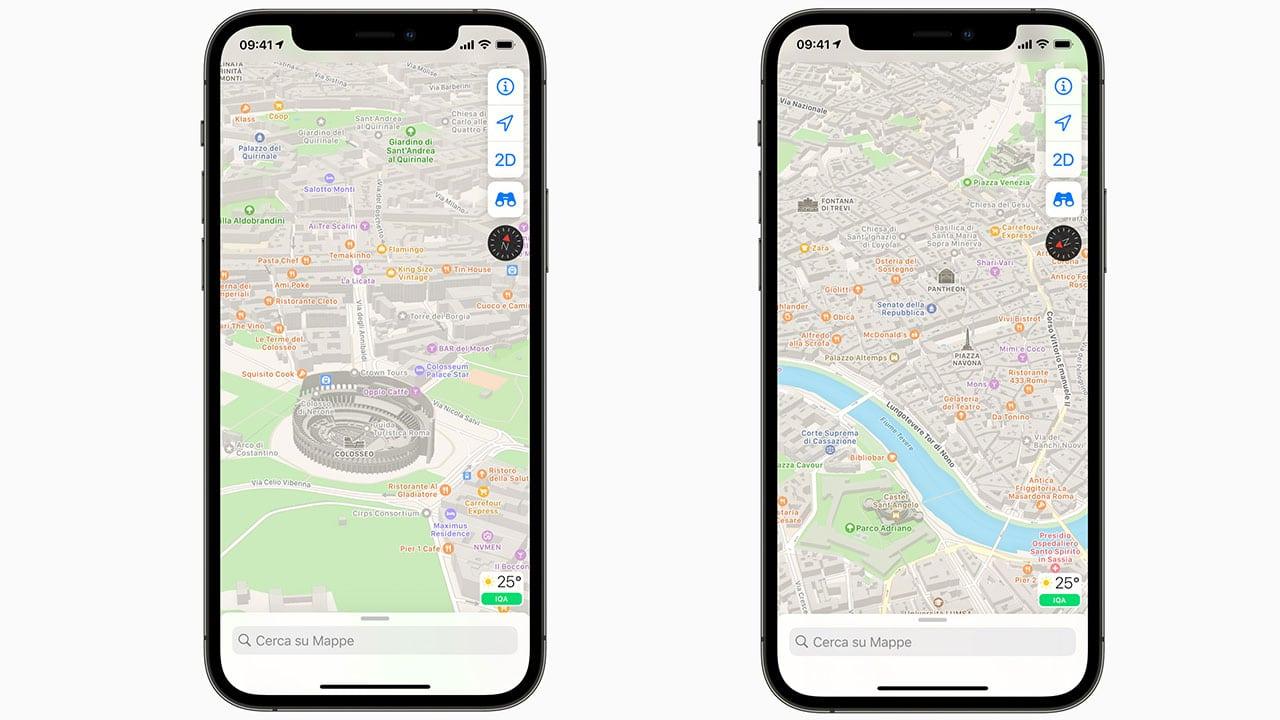 Le Mappe di Apple si aggiornano. Ecco tutte le novità thumbnail