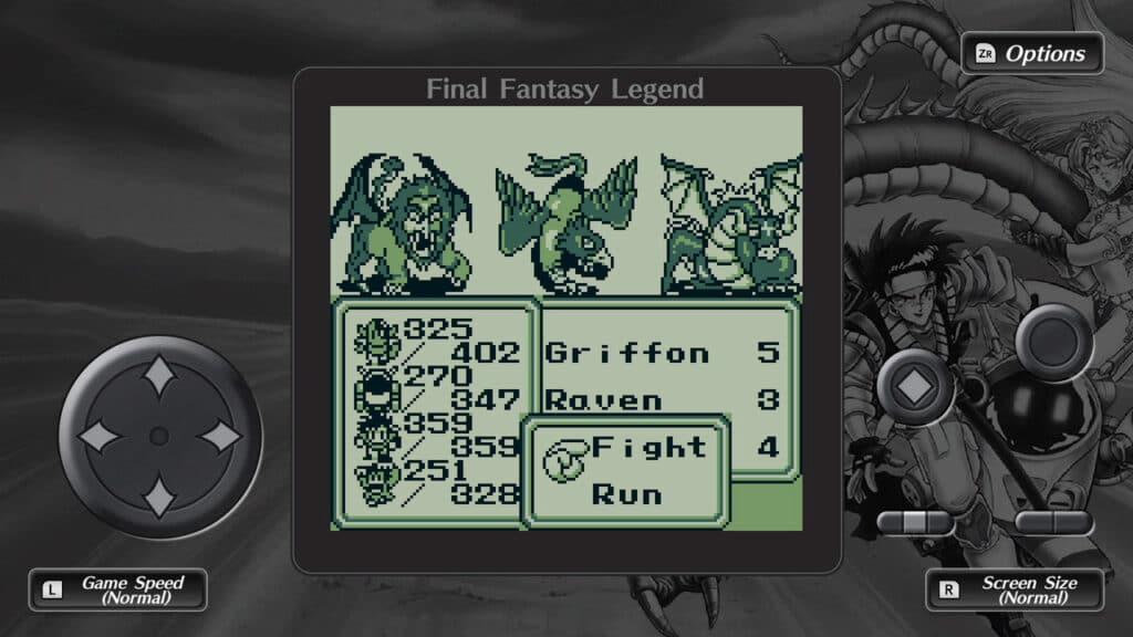 Collection of SaGa Final Fantasy Legend mobile
