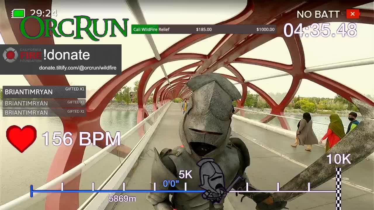 Lo streamer di Twitch corre 10 Km per beneficienza thumbnail