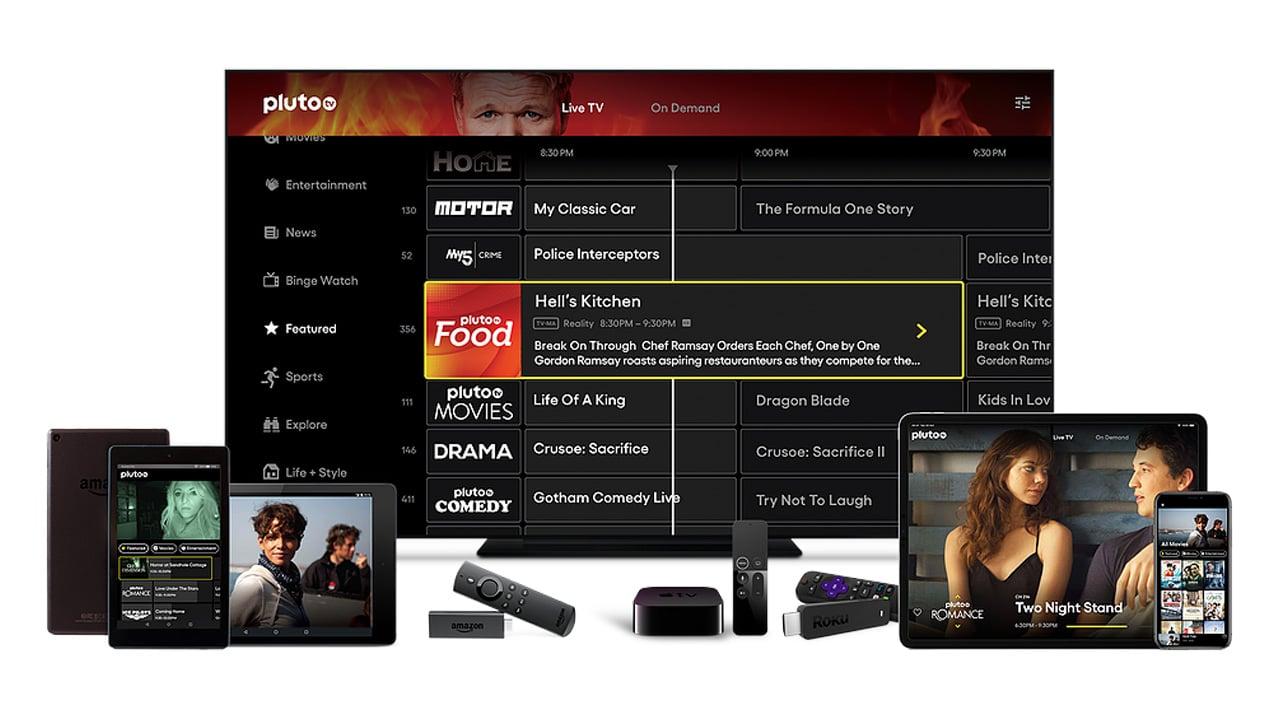 Arriva in Italia Pluto Tv, il nuovo servizio di streaming gratuito thumbnail