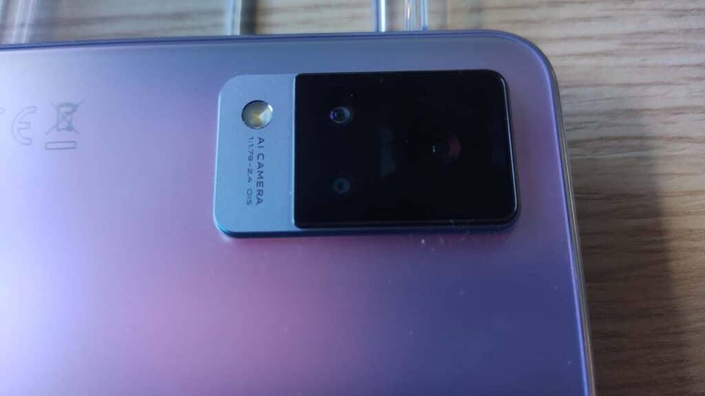 Recensione Vivo V21 5G fotocamera