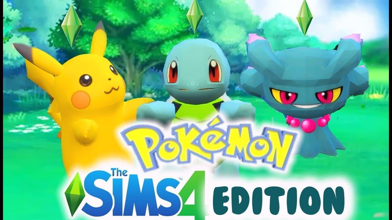 The Sims 4 accoglie un crossover fan made con Pokémon: ecco i dettagli thumbnail