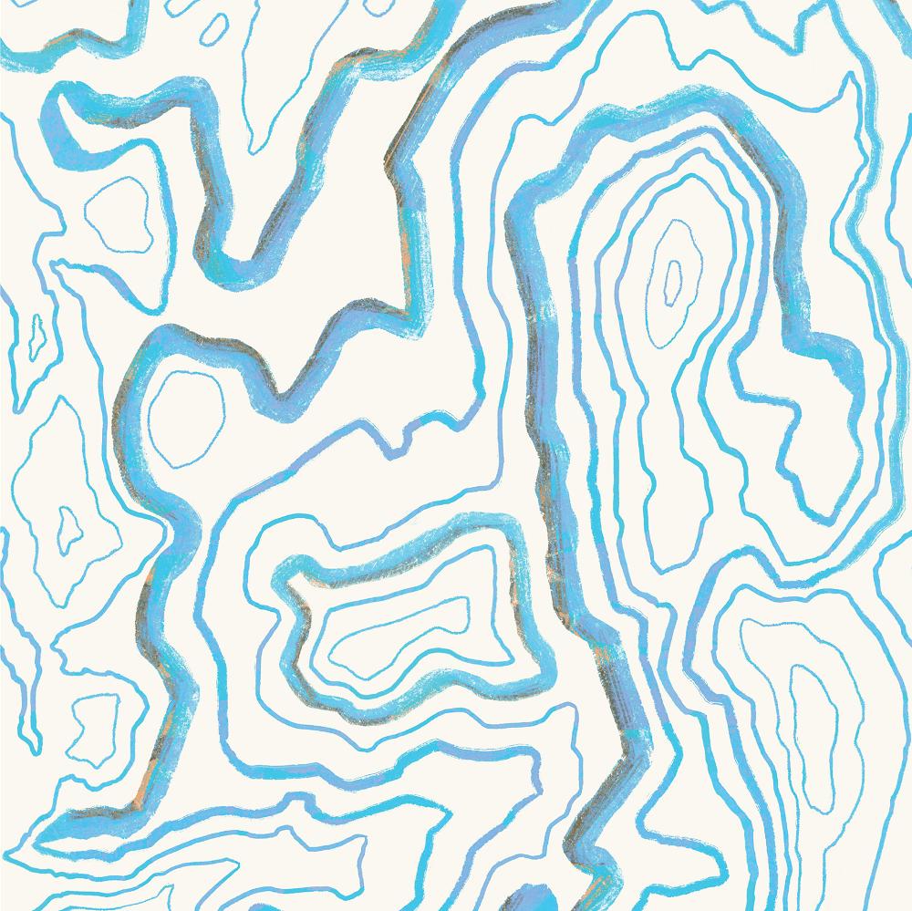 Topographic-pattern-tech-princess