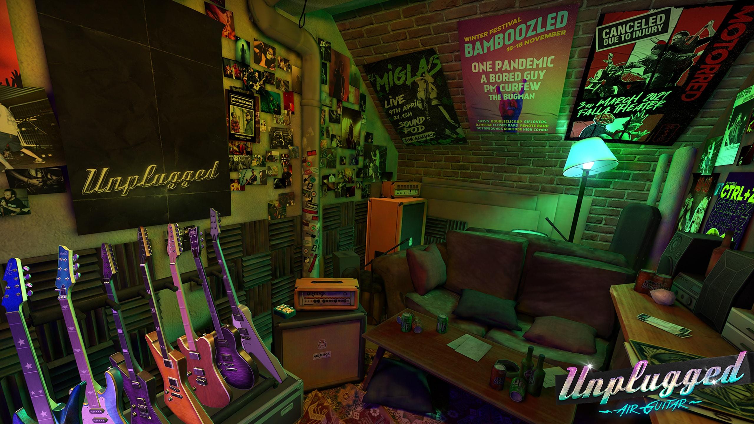 Arriva Unplugged, il gioco VR per diventare una stella del rock'n'roll thumbnail