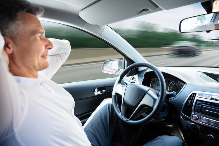 vettura a guida autonoma