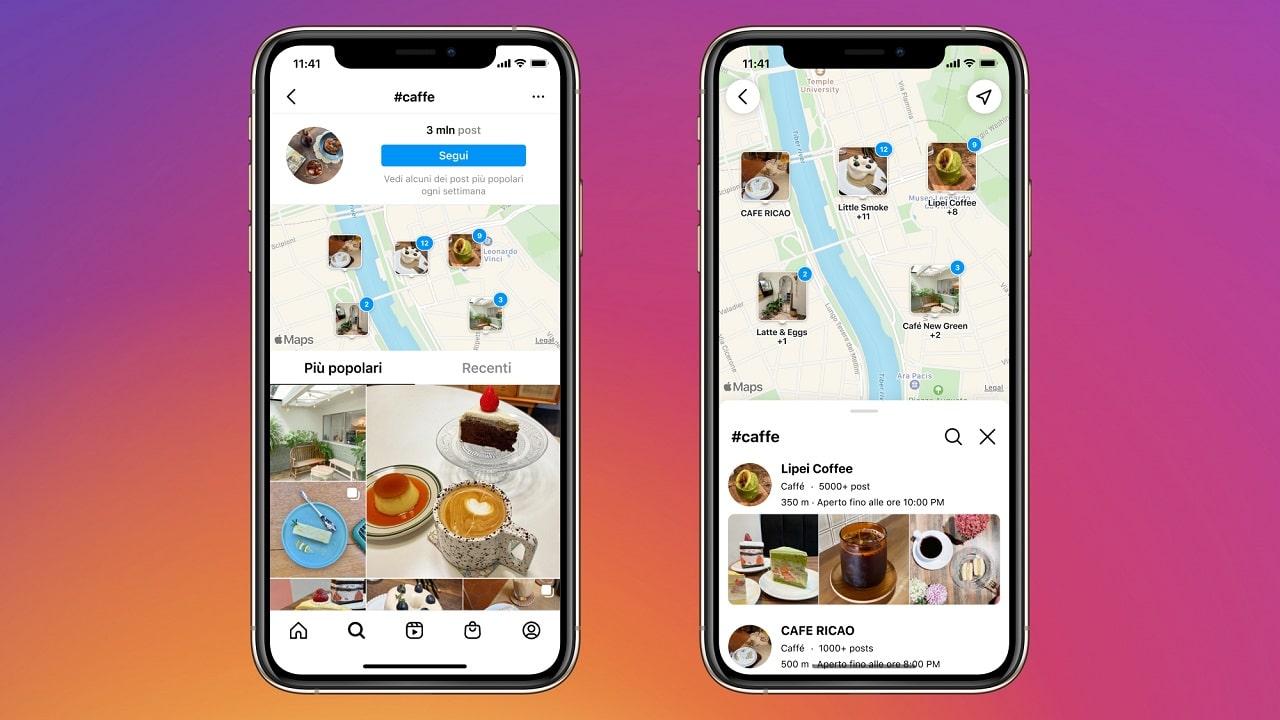 """Instagram lancia la funzione """"Cerca sulla mappa"""" thumbnail"""
