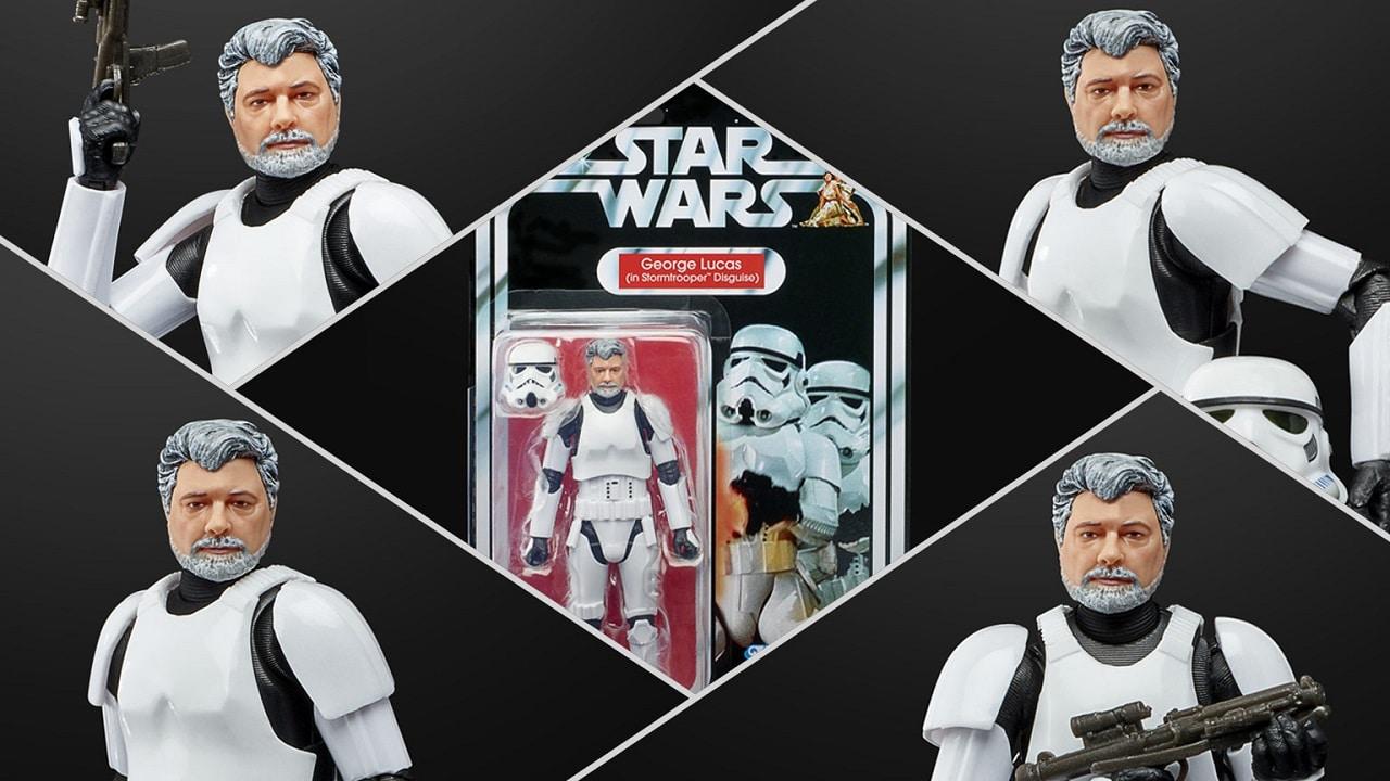 In arrivo una action figure Stormtrooper di George Lucas thumbnail