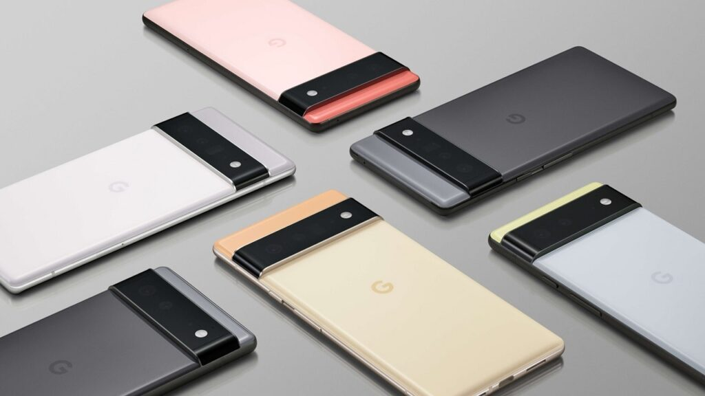 google pixel 6 pro batteria-min