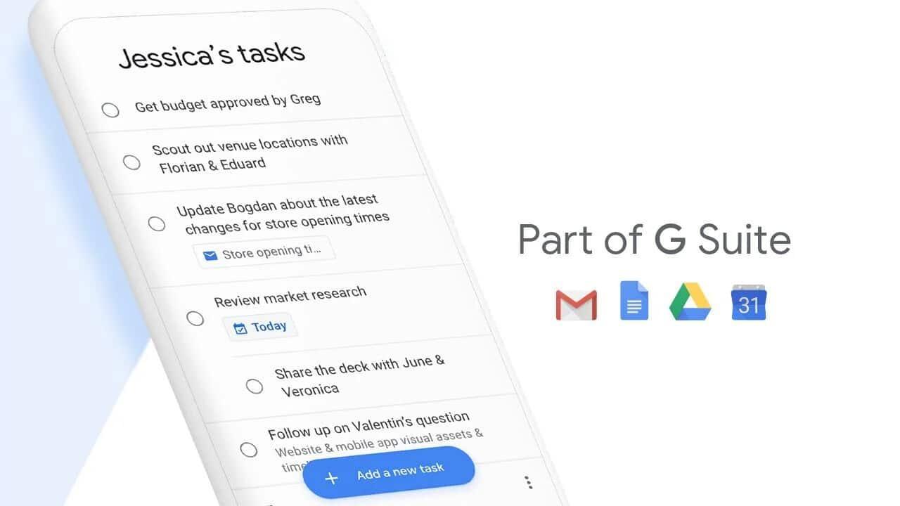Google aggiorna l'icona di Google Task thumbnail