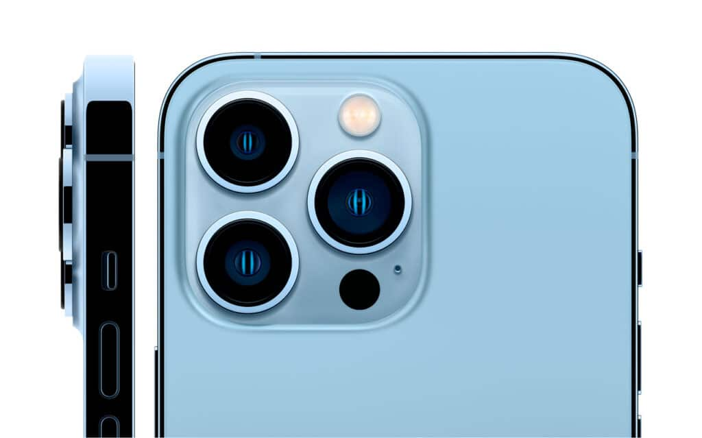 fotocamere iPhone 13 pro