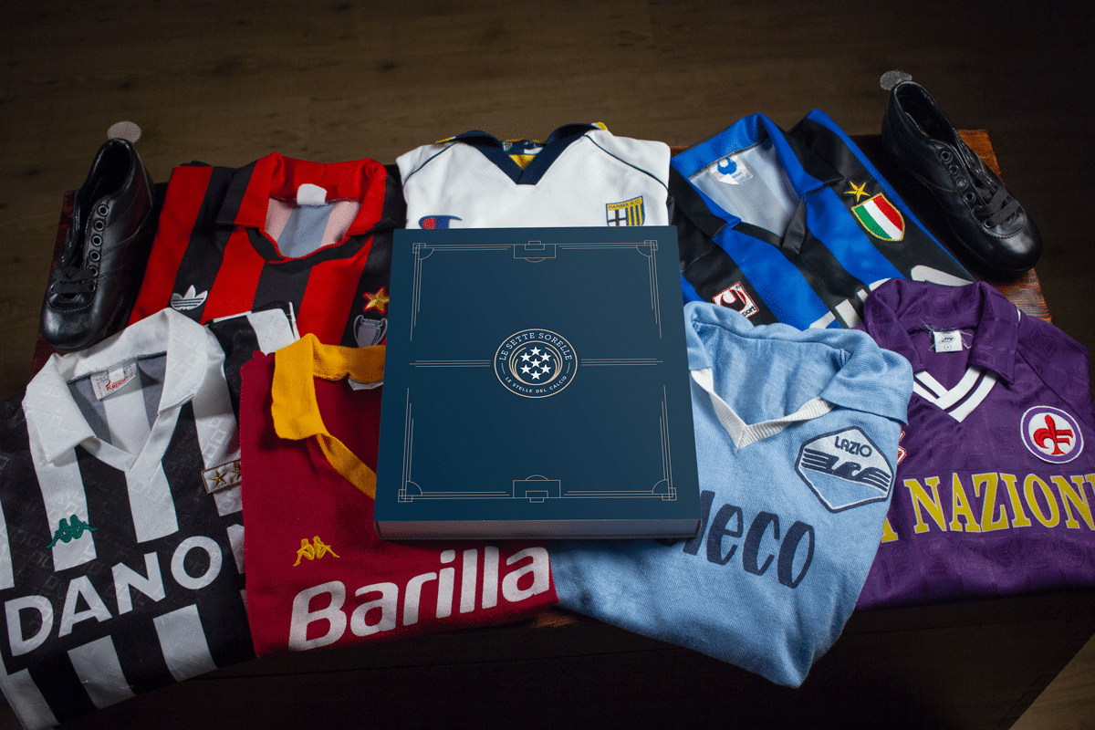 Le 7 Sorelle: crescita record per l'e-commerce di maglie storiche di calcio thumbnail