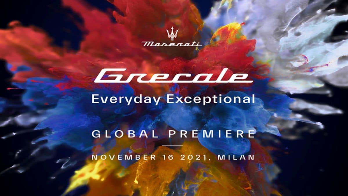 Maserati Grecale sarà svelato in anteprima a Milano il 16 novembre thumbnail