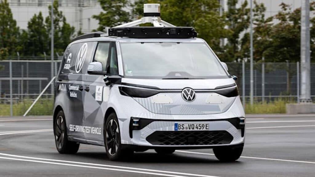 minivan guida autonoma volkswagen id.buzz
