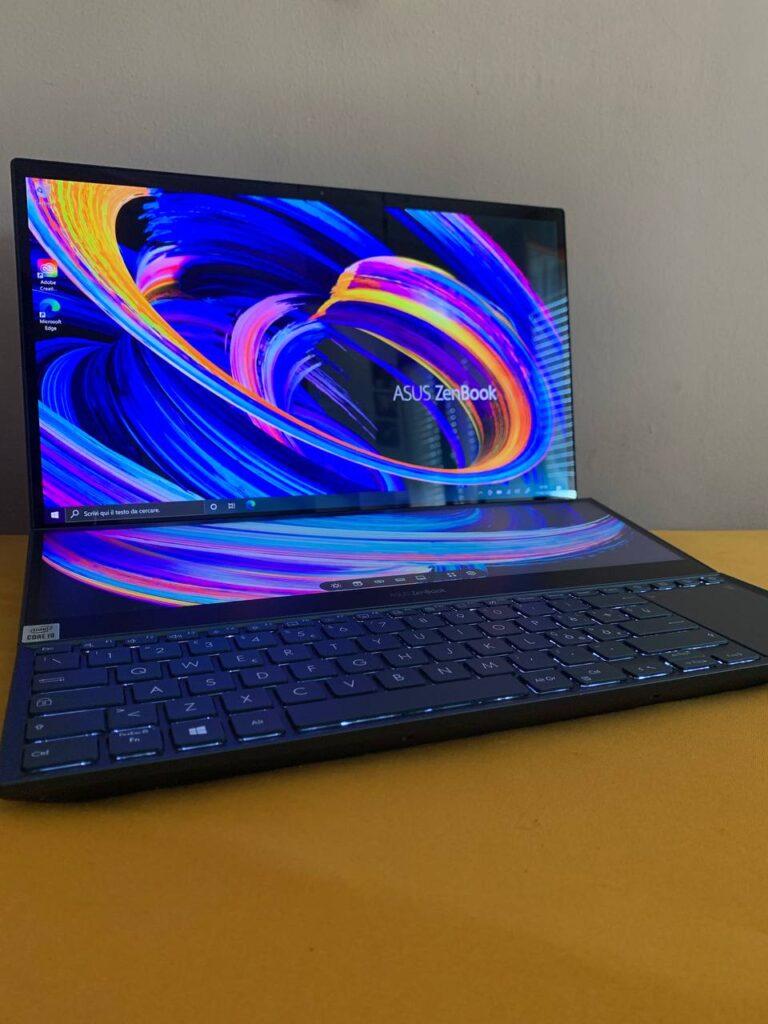 Asus ZenBook Duo Pro 15 recensione