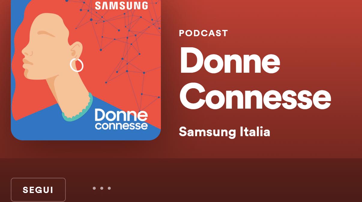 Donne Connesse: al via la nuova serie podcast di Samsung Italia thumbnail