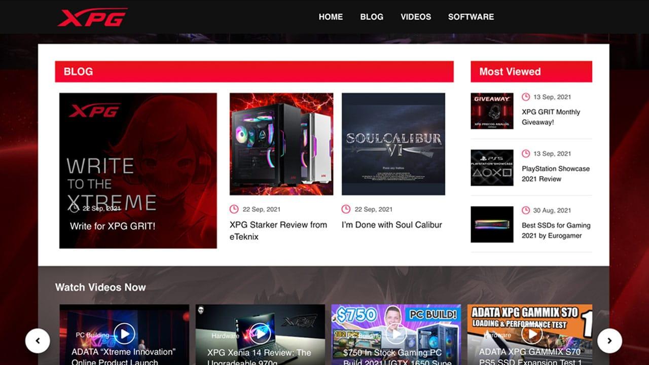 XPG lancia il sito XPG GRIT dedicato ai gamer thumbnail