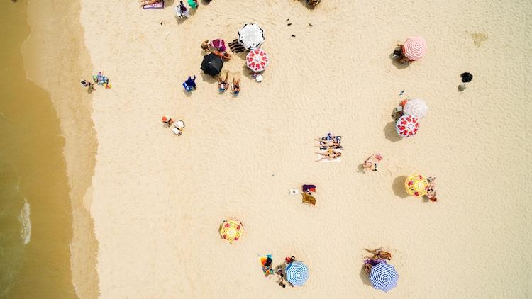 drone spiaggia