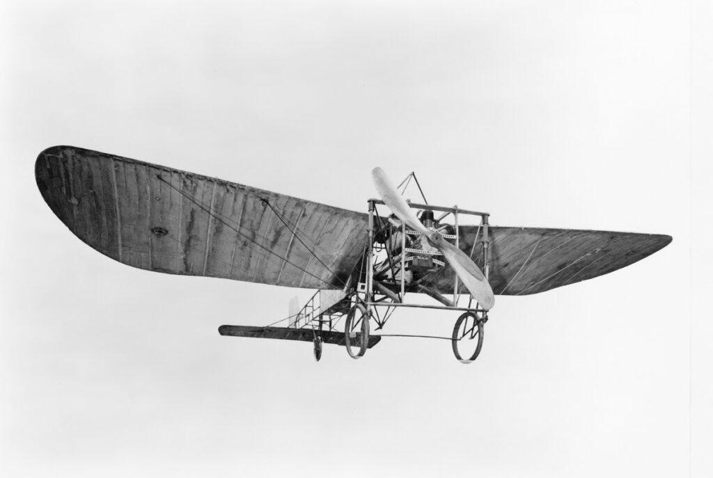 viaggio aereo Bleriot