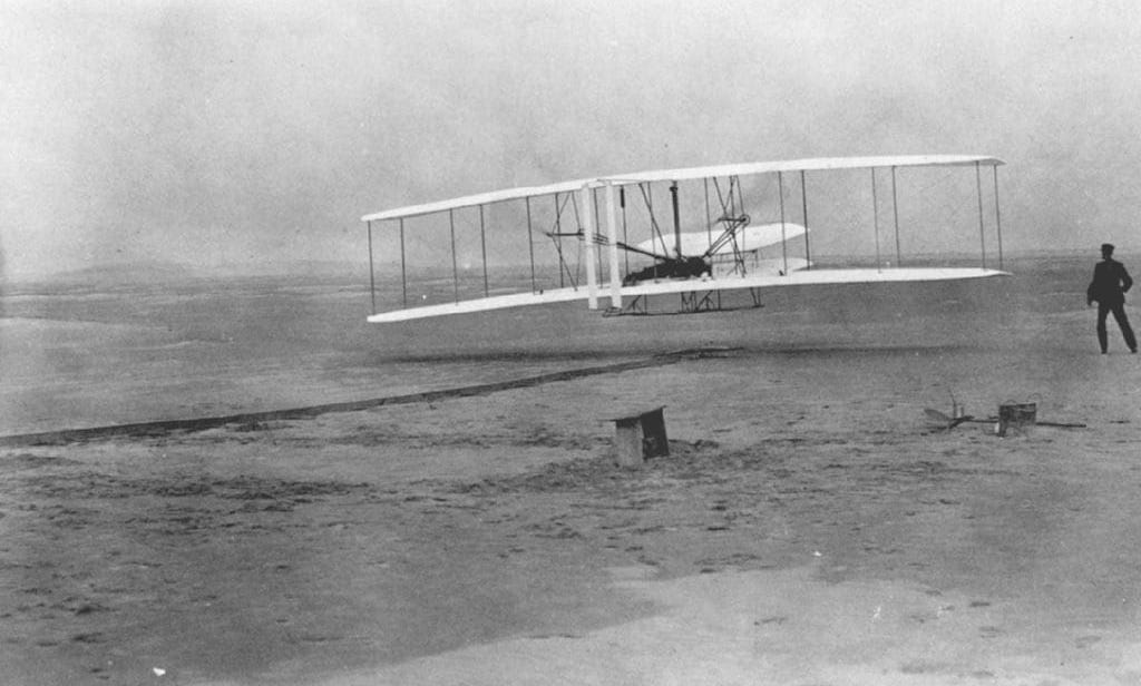 viaggio aereo Flyer fratelli Wright