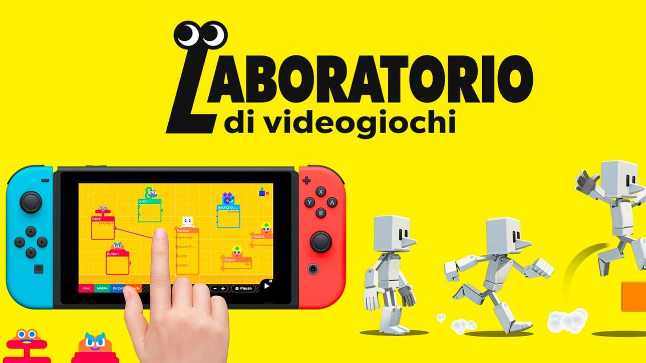 Laboratorio di videogiochi: il gioco Nintendo che insegna a programmare thumbnail
