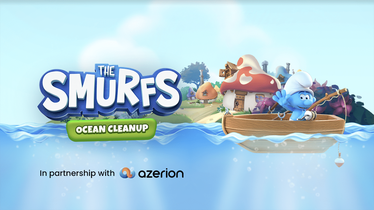 Azerion lancia 'I Puffi: Puliamo l'Oceano' thumbnail