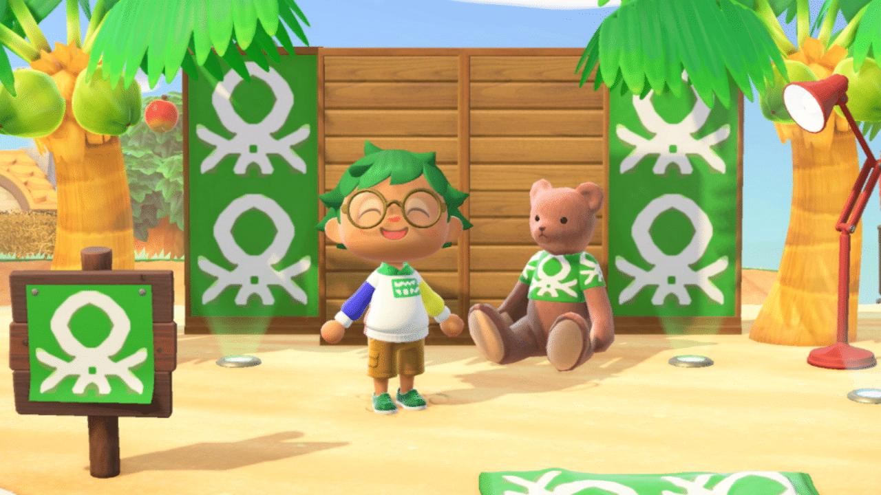 La Benetton Island fa il suo esordio su Animal Crossing: New Horizons thumbnail