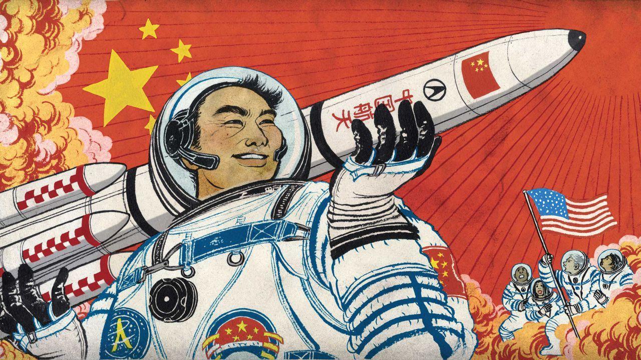 Shenzhou 13, la navetta cinese, è stata lanciata nello spazio thumbnail