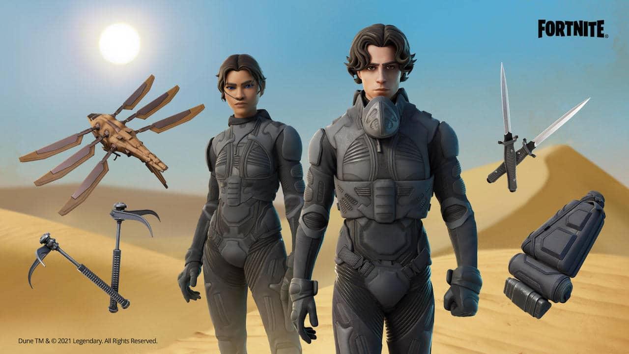 Su Fortnite arrivano le skin di Dune thumbnail