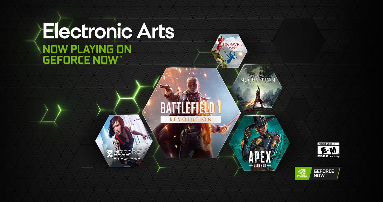 GeForce NOW e Electronic Arts: tanti nuovi giochi sulla piattaforma thumbnail