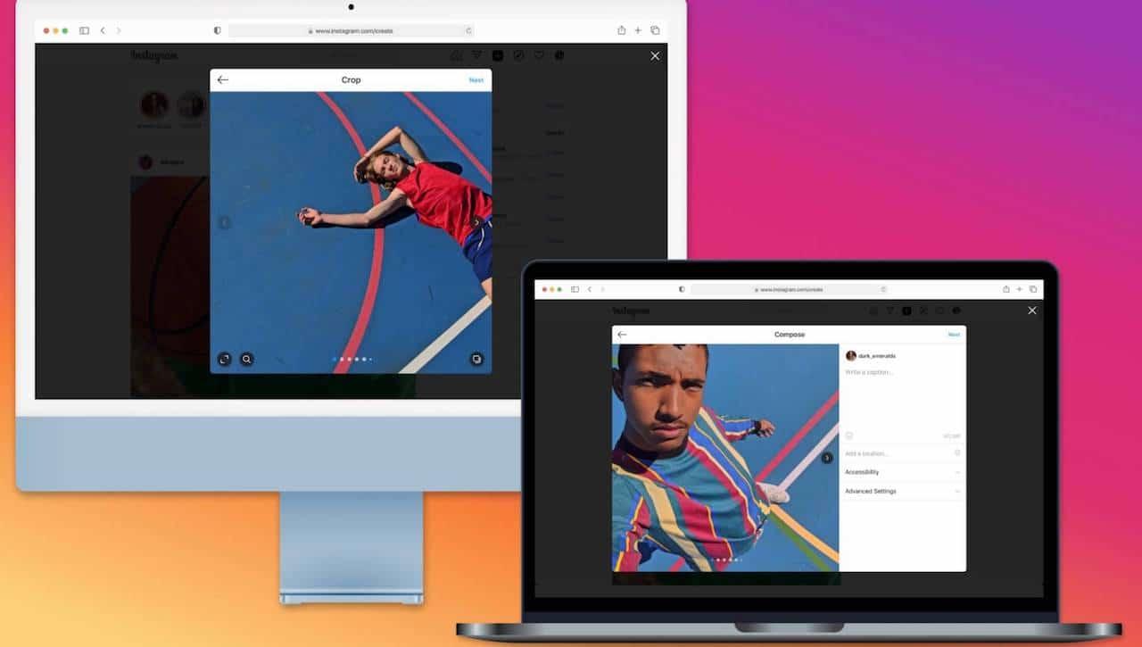 Ora è possibile postare su Instagram da desktop thumbnail