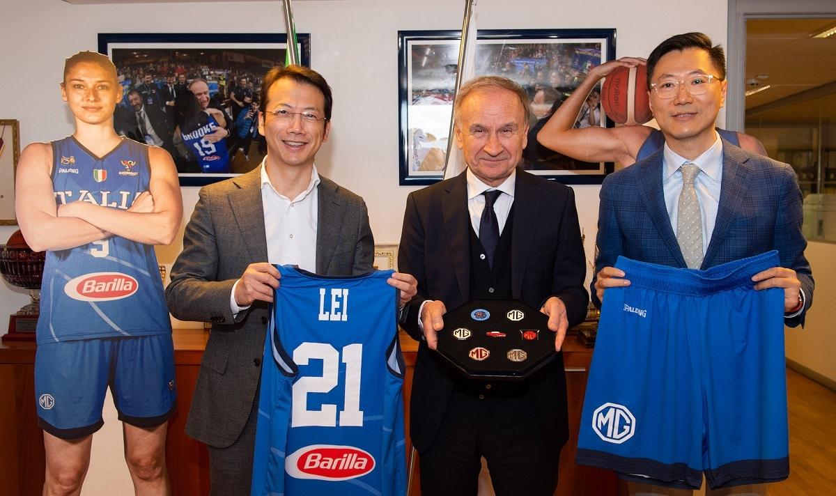 MG MOTOR ITALY è partner di FIP - Federazione Italiana Pallacanestro thumbnail