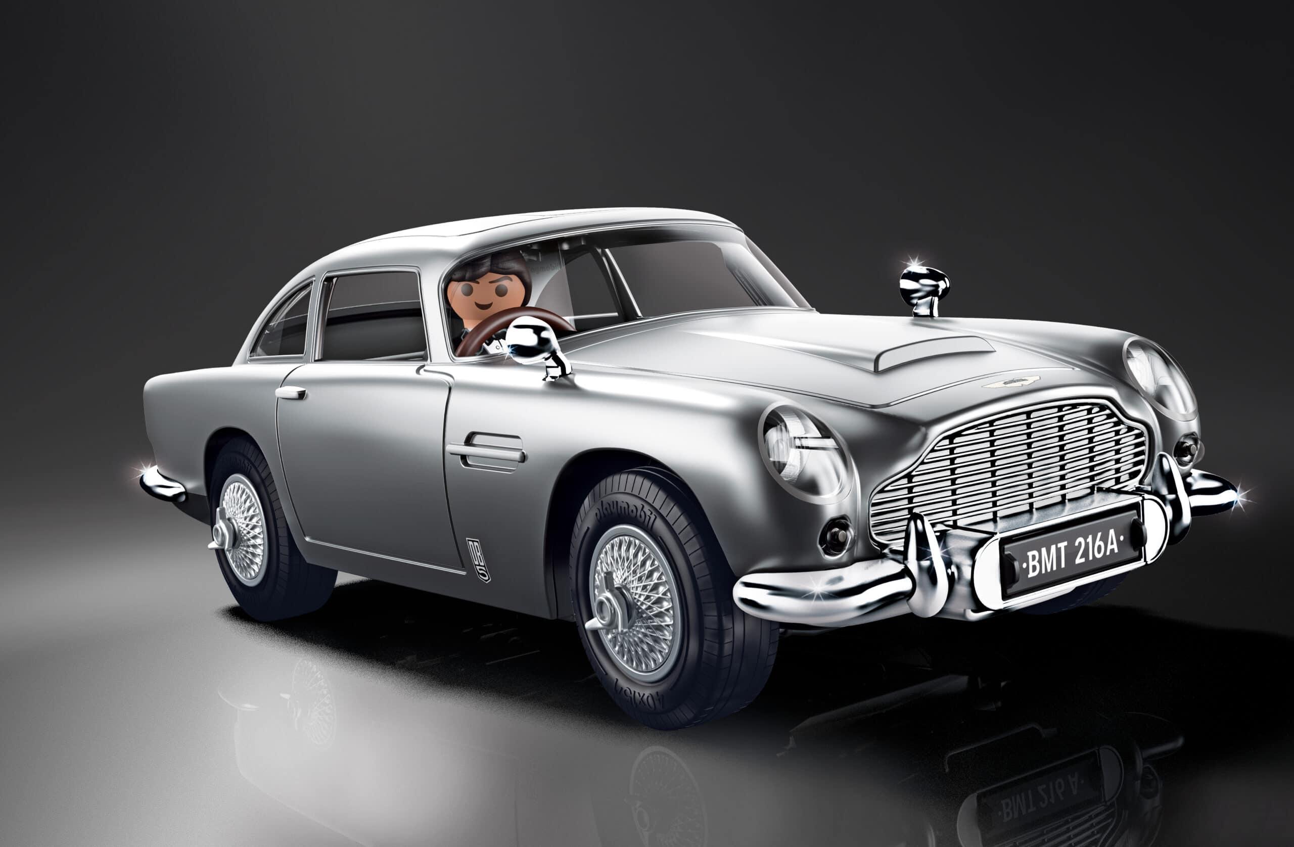 Arriva la replica PLAYMOBIL dell'iconica Aston Martin DB5 di James Bond thumbnail
