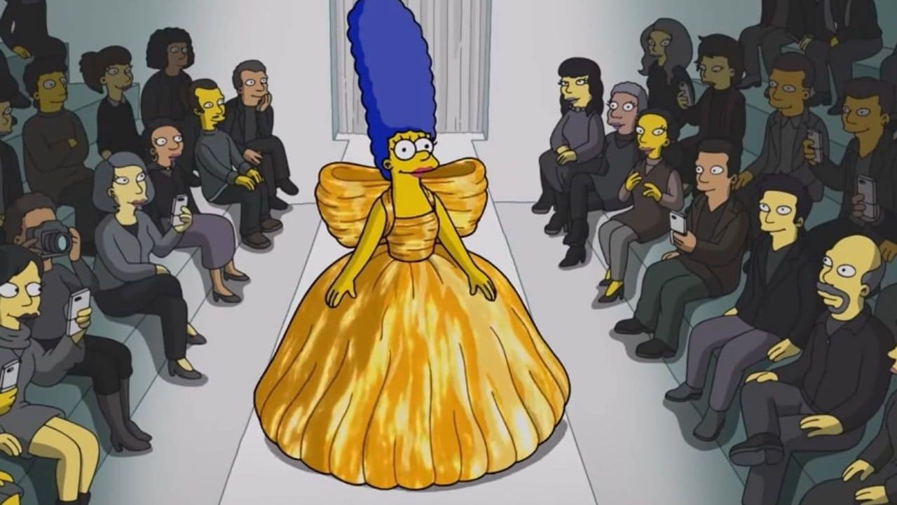 I Simpson in passerella per Balenciaga a Parigi thumbnail