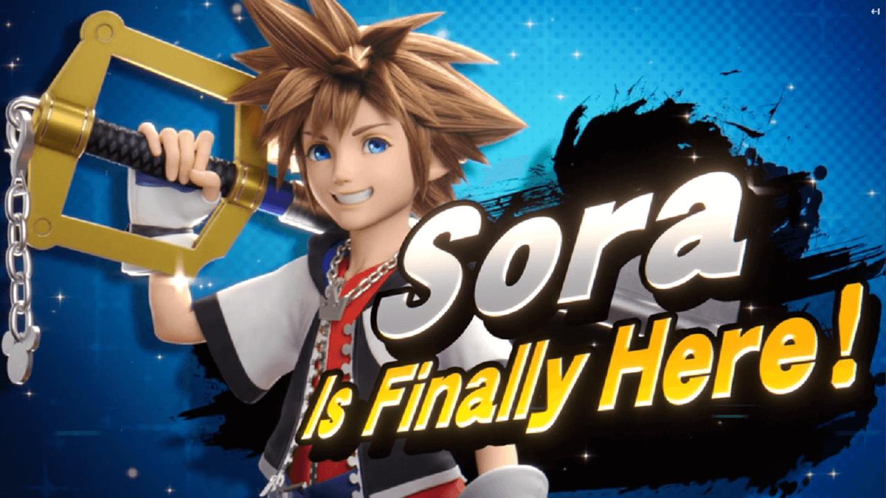 Sora è l'ultimo personaggio di Super Smash Bros. Ultimate thumbnail