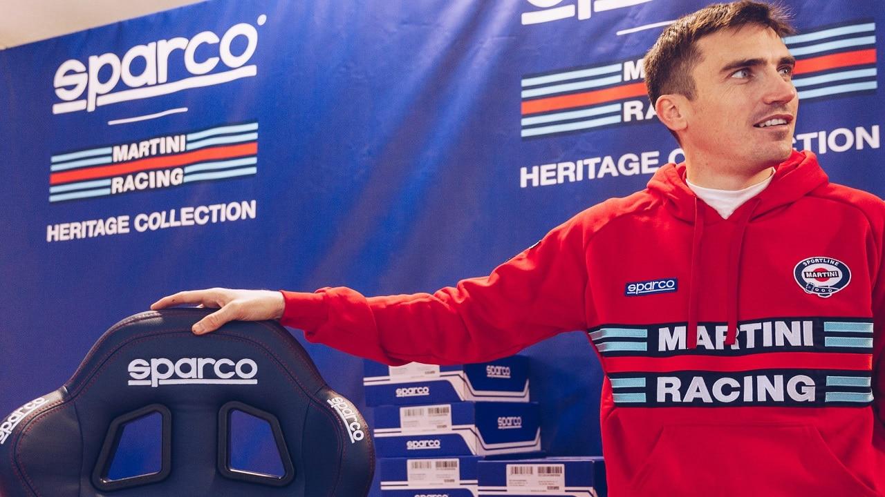 Sparco presenta le novità della Collezione Martini Racing thumbnail