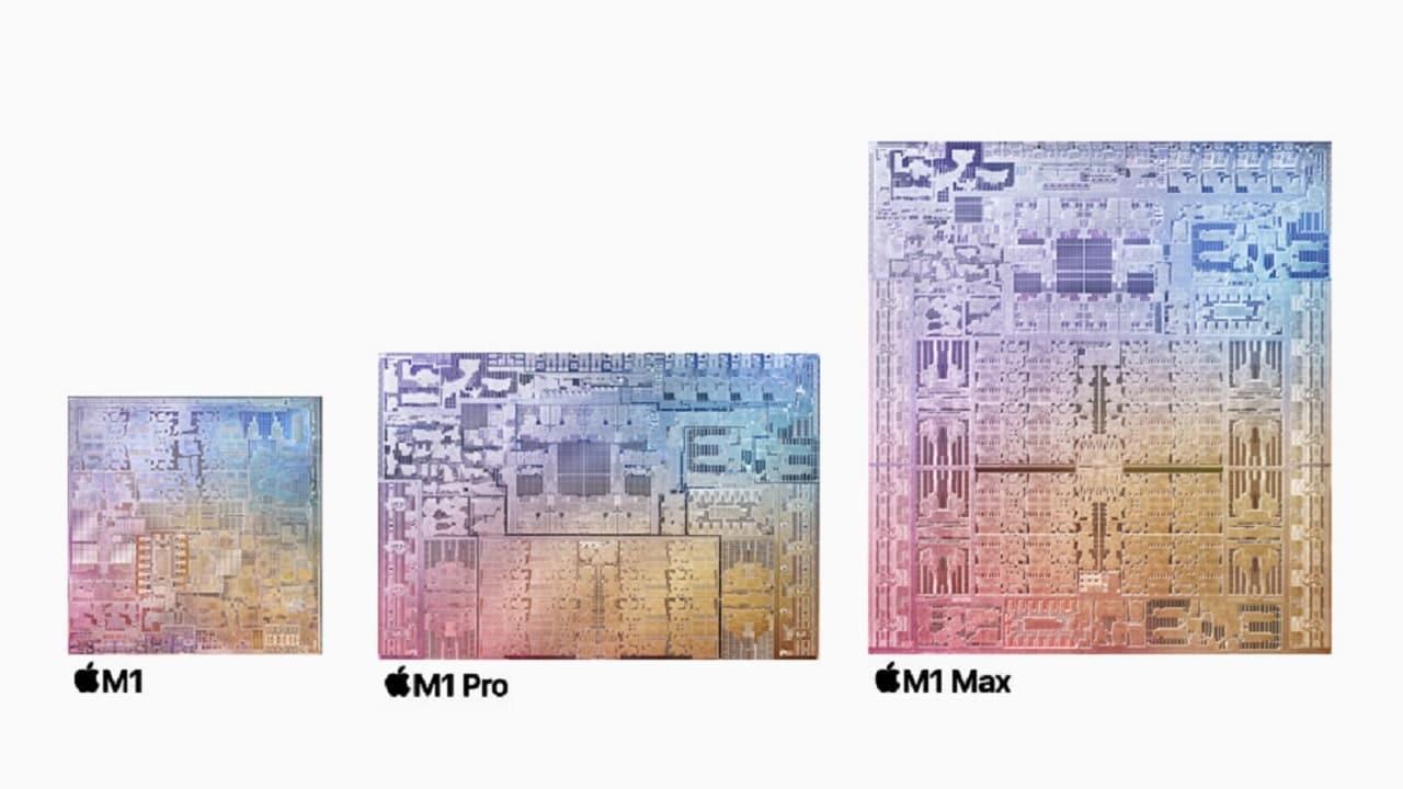 Il chip M1 Max è tre volte più veloce di Apple M1 thumbnail