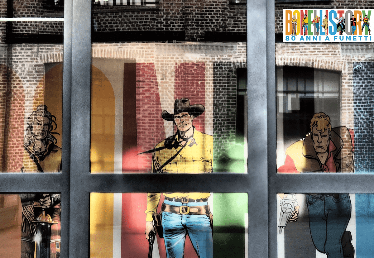 Bonelli Story. 80 anni a fumetti: la mostra apre i battenti thumbnail