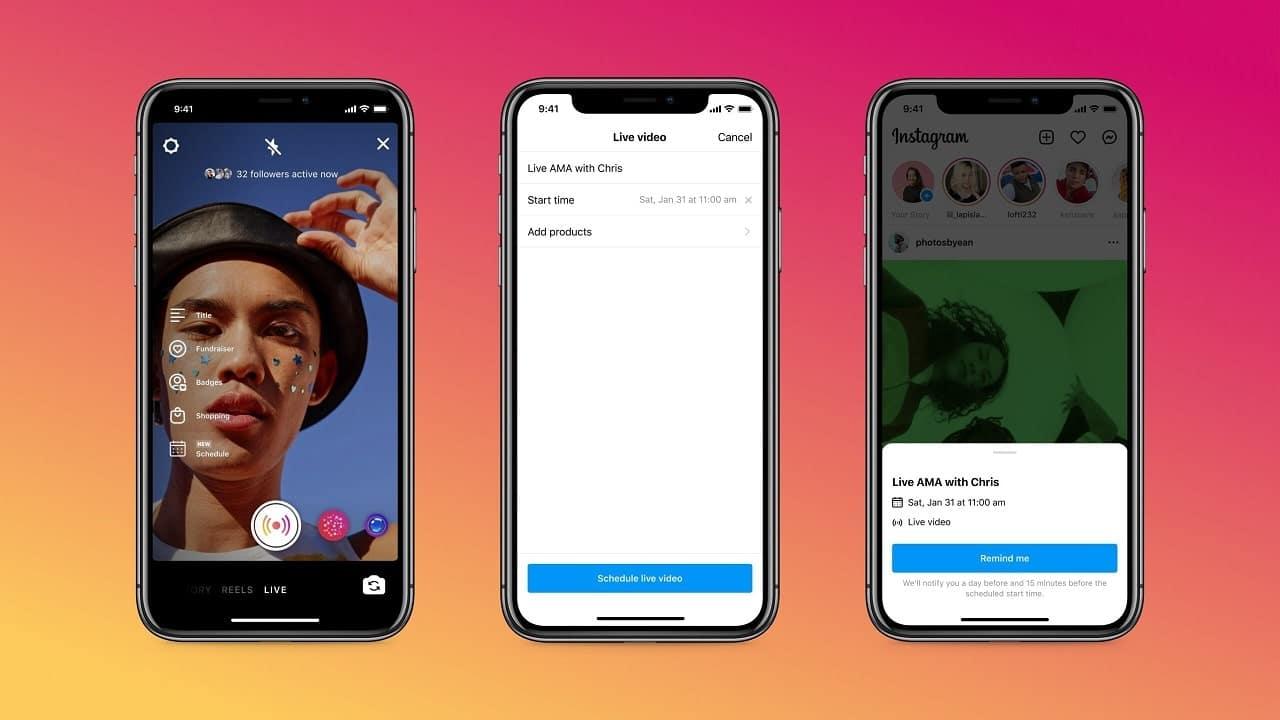 Instagram permette di programmare le Live thumbnail