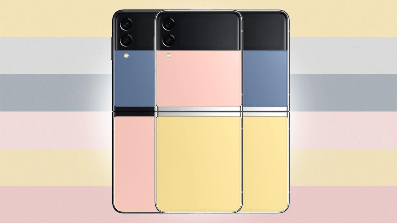 Smartphone su misura: ecco Samsung Galaxy Z Flip3 Bespoke Edition thumbnail